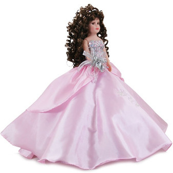 """Pink Quinceanera Doll, 21""""  AK-207D, available any color"""