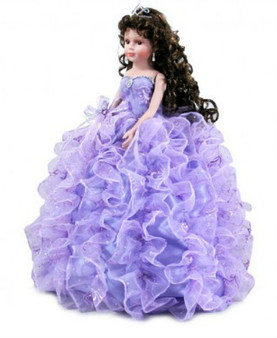 Lilac Quinceanera Doll, 26 inches available in every color