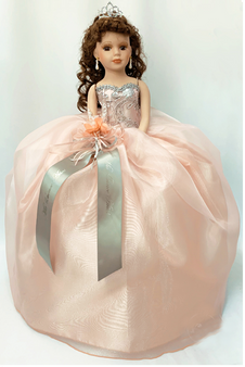 Blush Quinceanera Doll, available in every color