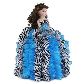 "Quinceanera Doll, 26""  Tall available in any colors"