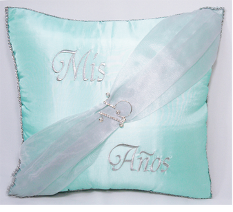15 Quinceanera Pillows Set. Two pillows