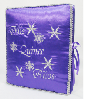 Winter Quinceanera Guest Book, Photo Album
