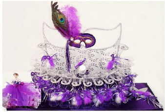 Masquerade Toasting Set, available in all colors