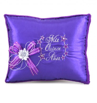 Stars Quinceanera  Pillows Set. Two Pillows