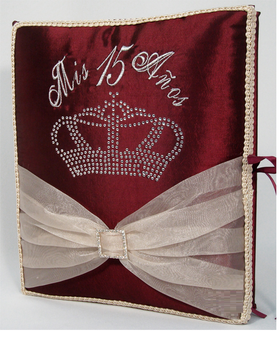 Quinceanera Guest Book, Photo Album AK-KC133G