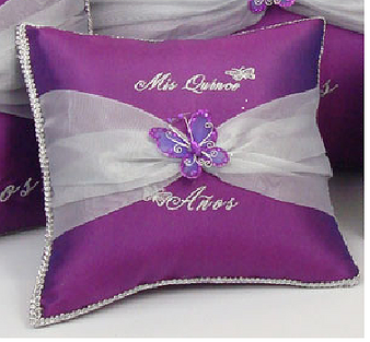 Butterfly Quinceanera Pillows Set