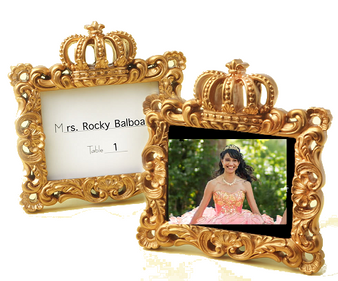 Royal Gold Crown Frames (as low as $ 2.19 )