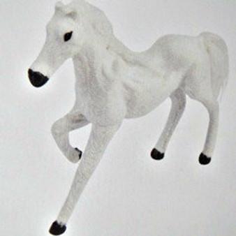 """9"""" White  Horse"""