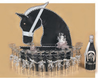 Charro  Quinceanera Toasting  Set, available in all colors