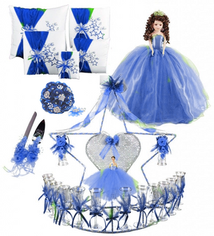 Stars Quinceanera Package available in every color