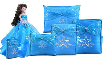 Star Quinceanera Accessories Set, 6 Items,  available in all colors