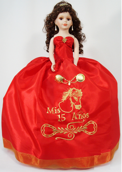 Western Quinceanera Doll, available in every color