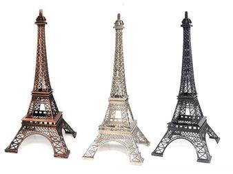 """15"""" Eiffel Tower Paris, many colors"""