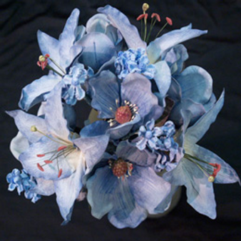 """16"""" Latex Magnolia Bouquet, available in many colors"""