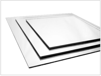 "10"" Square Mirrors, set of 12"