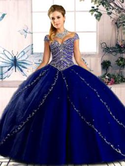 Blue Quinceanera Dress QSJQDDT2075002-5