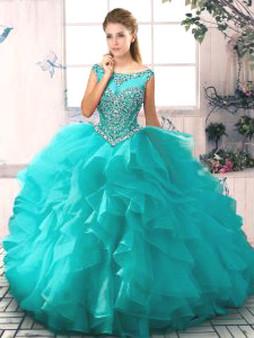 Aqua Quinceanera Dress QSJQDDT2069002-3