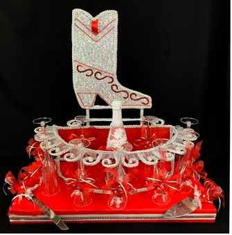 Boot Quinceanera Toasting Set, available any color