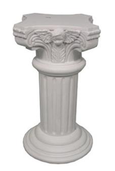 """6.5"""" Poliresin Pillar"""