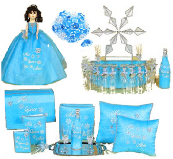 Winter Quinceanera Package, available in every color