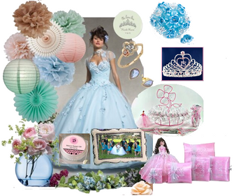 Mis Quince Quinceanera Dress Package
