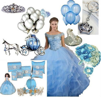 Princess Quinceanera Dress Package