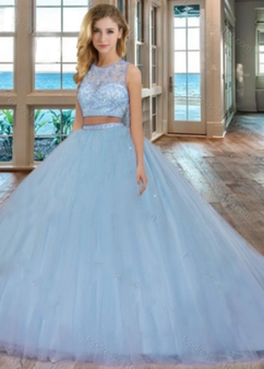 Quinceanera Dress # QSSXQD094BL