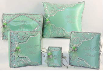 Mint Green Quinceanera Set, up to 7  items, available in all colors