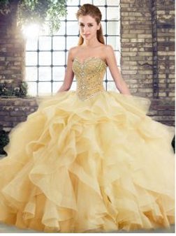 Champagne Quinceanera Dress  QSJQDDT2123002-2