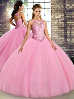 Pink Quinceanera Dress QSJQDDT2117002