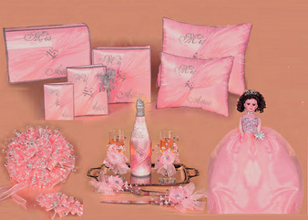 Pink Quinceanera Package available in every color