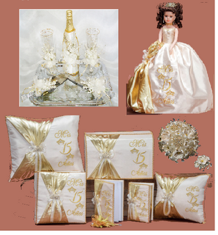 Tiaras Quinceanera Package available in every color