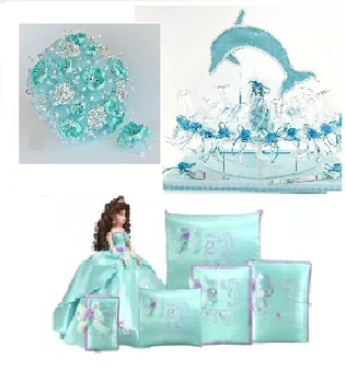 Under the Sea Quinceanera Package Set