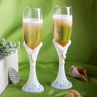 Under the Sea Quinceanera Toasting Glasses