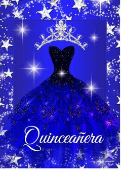 Stars Quinceanera Invitation QS-IN58 set of 50