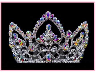 "4 "" Quinceanera Crown"