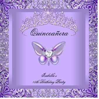 Quinceanera Invitation QS-IN25 set of 50