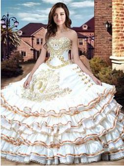 Charro Quinceanera Dress  QSXBQD082