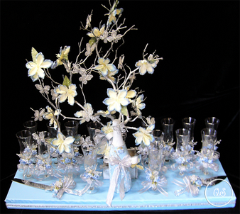 Quinceanera Toasting Set , available in all  colors
