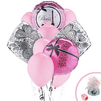 Paris Balloons Bouquet