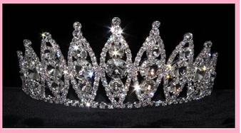 """3"""" Princess Quinceanera Tiara,  QT-15740"""