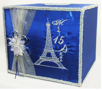 Quinceanera Square Money Box