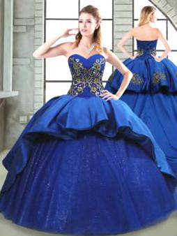 Royal Blue Quinceanera Dress  QSPSSW0540MT