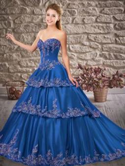 Blue Quinceanera Dress QSXFQD1532-14