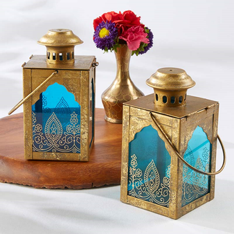 Jewel Lantern Centerpieces