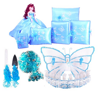 Butterfly Quinceanera  Package