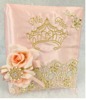 Quinceanera Guest Book, Photo Album AK-355A