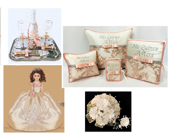 Quinceanera Package, available in every color
