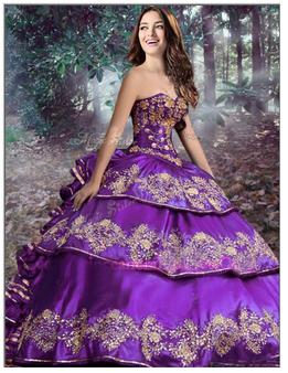Quinceanera Dress QSXBQD081PRT-2