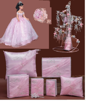 Quinceanera Package, available in all colors